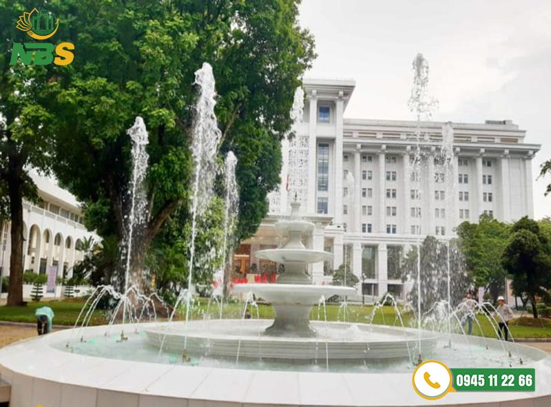 Dự án thiết kế đài phun nước tại Văn phòng Chính phủ sang trọng