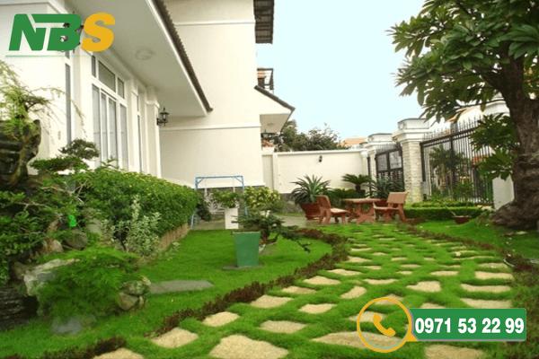 Thiết kế thi công sân vườn cân bằng trong từng yếu tố