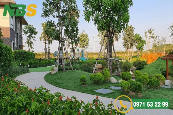 Mẫu thiết kế thi công sân vườn biệt thự chuyên nghiệp tại NBS
