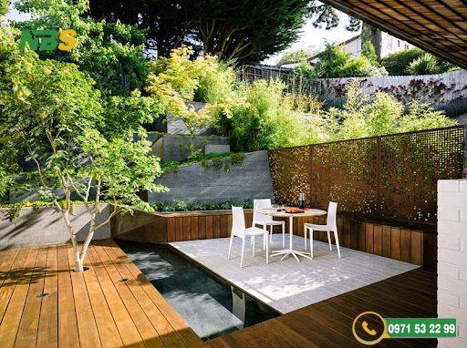 Mẫu thiết kế sân vườn phong cách Châu Âu đẹp