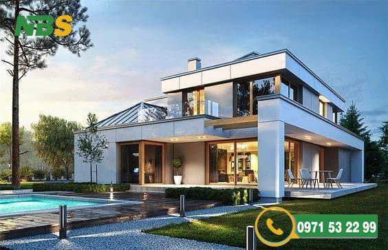 Mẫu thiết kế nhà vườn dành cho khu biệt thự đẹp