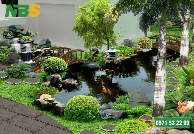Thiết kế hồ cá koi đảm bảo môi trường sống tốt nhất