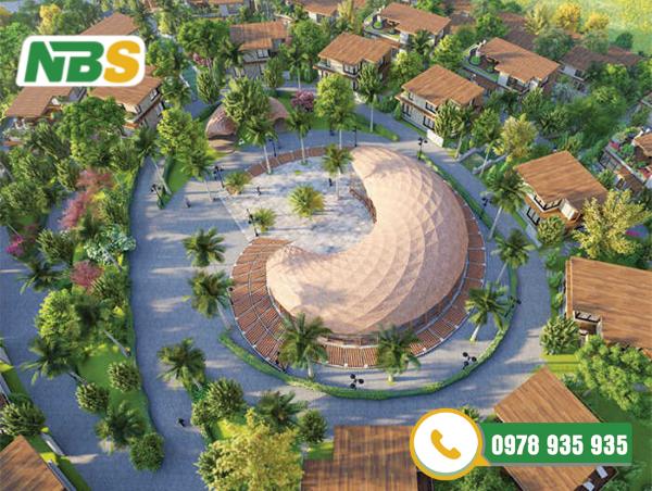 Thiết kế cảnh quan resort phong cách ốc đảo