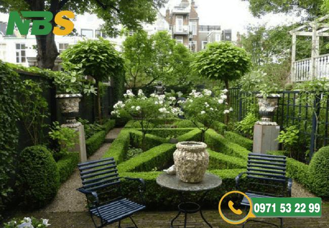 Thiết kế sân vườn phù hợp phong thủy