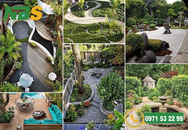 Ý tưởng thiết kế sân vườn chuyên nghiệp