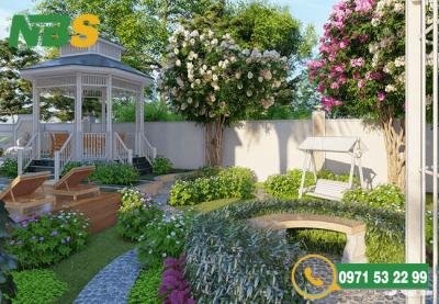 Thiết kế sân vườn chuyên nghiệp và sang trọng