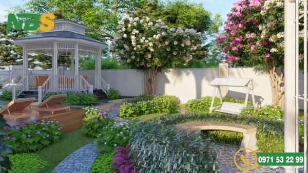 Cần bố trí thiết kế nhà vườn theo hướng phù hợp