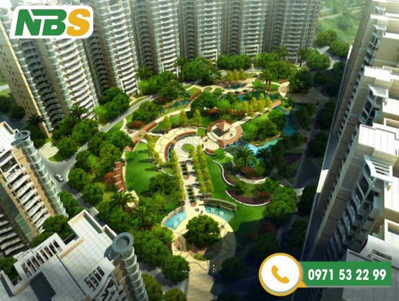 Thiết kế cảnh quan chung cư không chỉ tăng tính thẩm mỹ mà nó còn mang lại không gian sống xanh cho cư dân