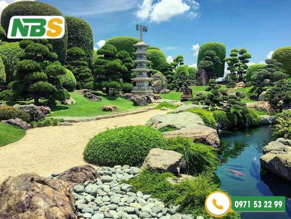 NBS là đơn vị thiết kế thi công sân vườn đẹp miền Bắc