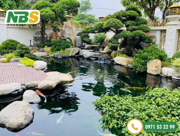 Thiết kế sân vườn Nhật Bản thể hiện rõ nhất được yếu tố này