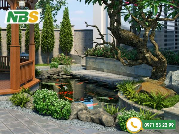 Thiết kế cảnh quan sân vườn nhà