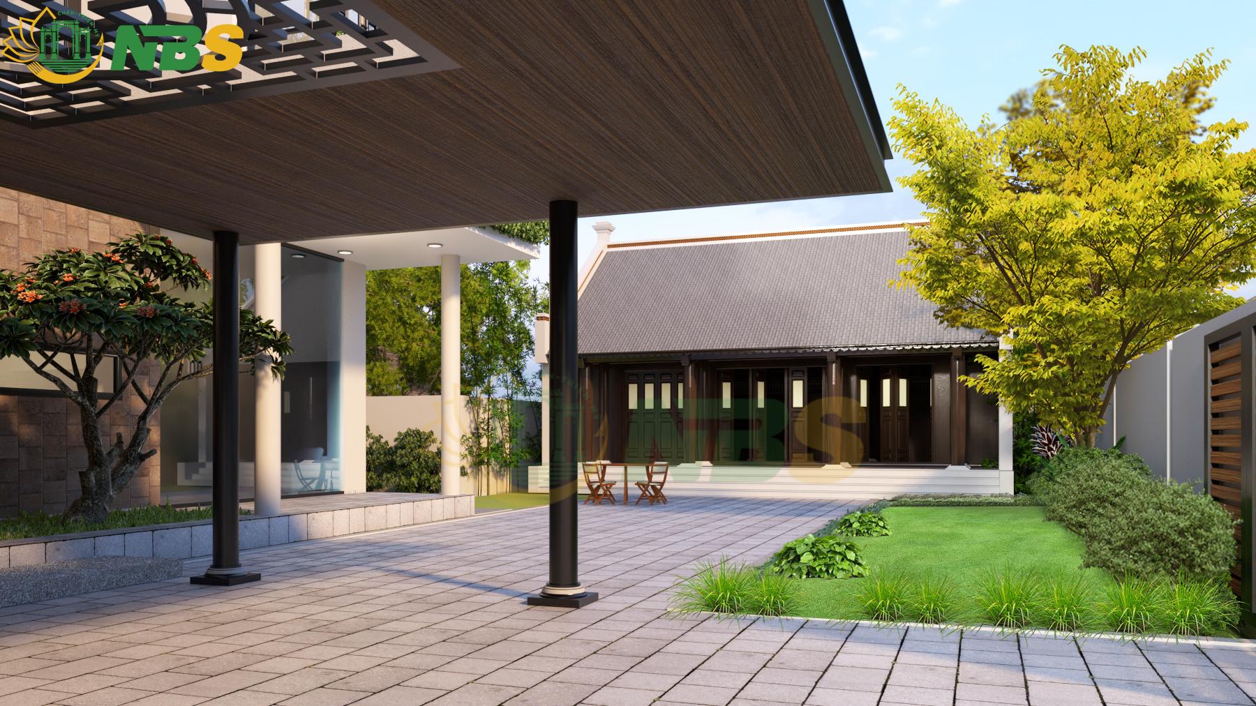 Dự án thiết kế nhà thờ gia tiên và nhà chính