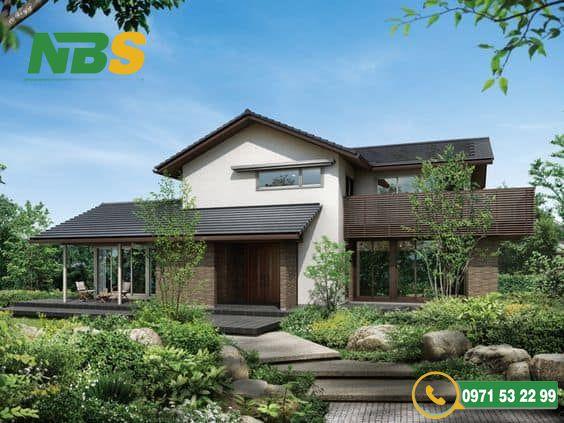 Mẫu thiết kế nhà vườn mang văn hóa Nhật Bản