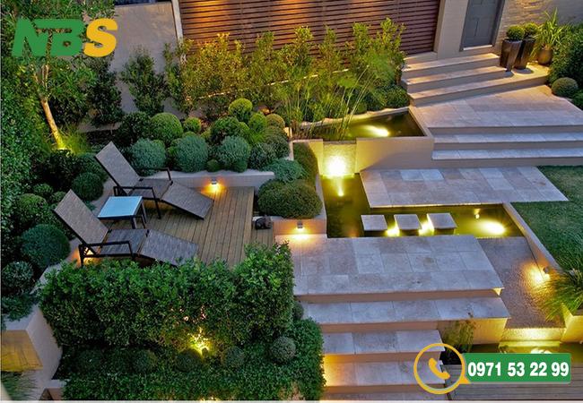 Thiết kế sân vườn nhỏ đậm phong cách Châu Âu