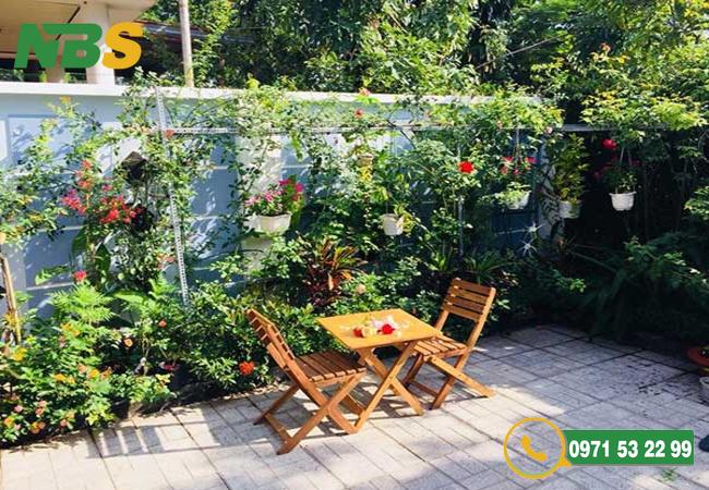 Chuyên thiết kế sân vườn nhỏ chuyên nghiệp