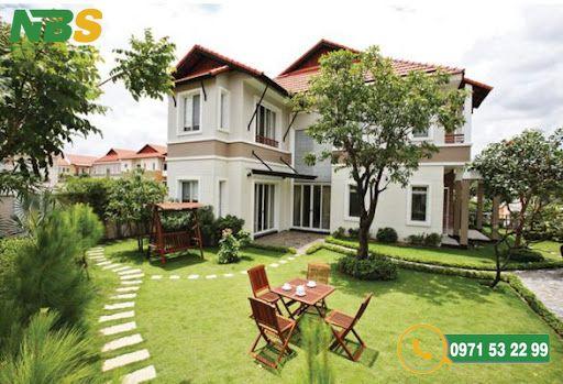 Đơn vị thiết kế và thi công nhà vườn 2 tầng mái Thái chuyên nghiệp