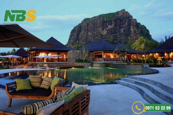 Những khu resort là địa điểm nghỉ dưỡng tuyệt vời