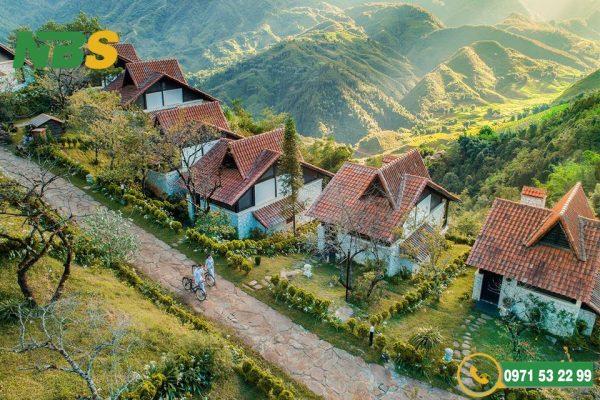 Mẫu resort mang phong cách Pháp