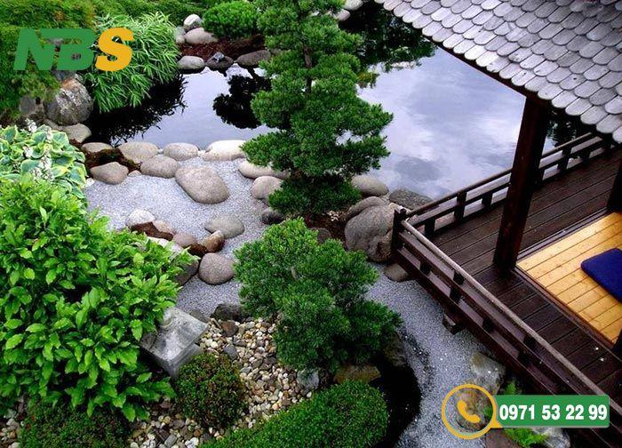 Thiết kế sân vườn kiểu Nhật phong cách Chaniwa