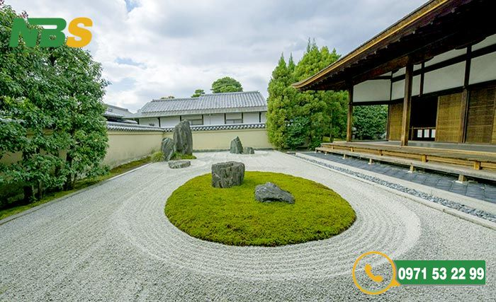 Thiết kế sân vườn kiểu Nhật phong cách Karesansui