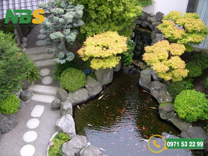Thiết kế sân vườn kiểu Nhật phong cách Tsukiyama