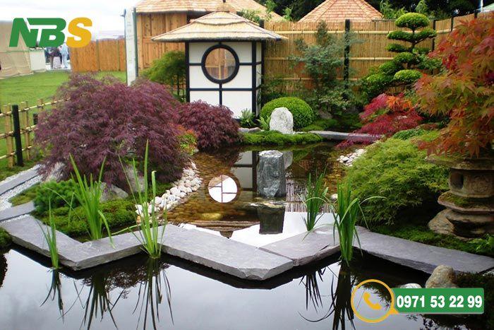 Lưu ý khi thiết kế sân vườn kiểu Nhật ấn tượng và độc đáo